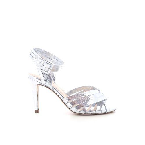 Morobe damesschoenen sandaal zilver 202625