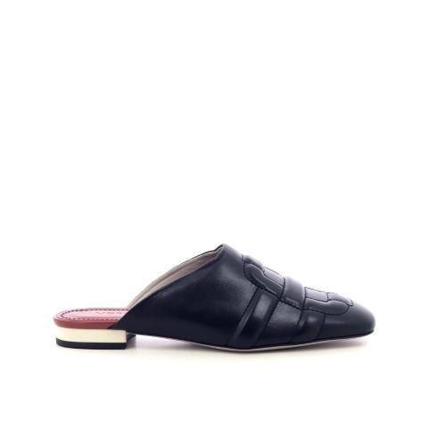 Morobe damesschoenen sleffer zwart 218145