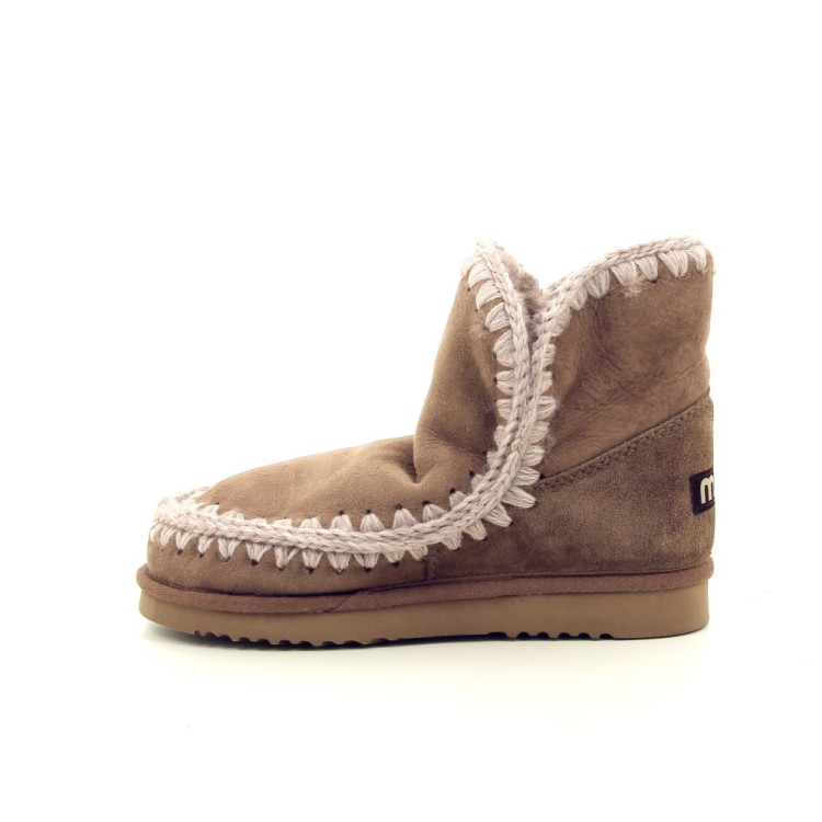 Mou damesschoenen boots naturel 188709