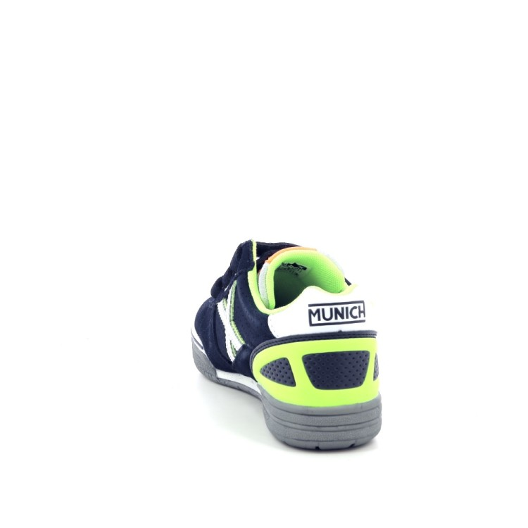 Munich kinderschoenen sneaker donkerblauw 200246