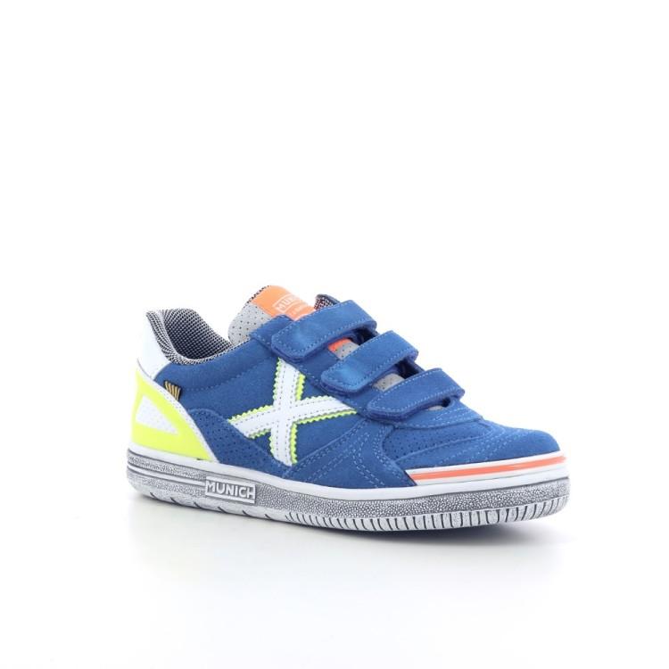 Munich kinderschoenen sneaker felblauw 204994