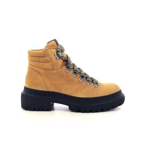Mym damesschoenen boots taupe 218398