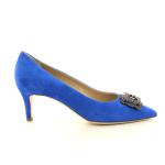 Natan damesschoenen pump blauw 13356