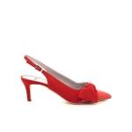 Natan damesschoenen sandaal rood 195814