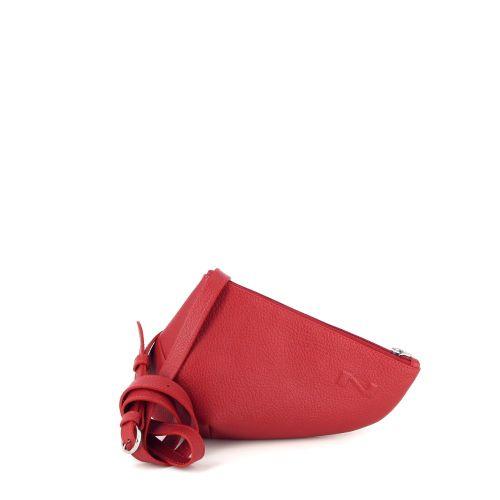 Nathan-baume tassen handtas rood 194693