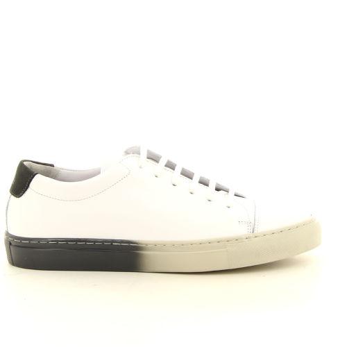 National standard herenschoenen sneaker wit 12113