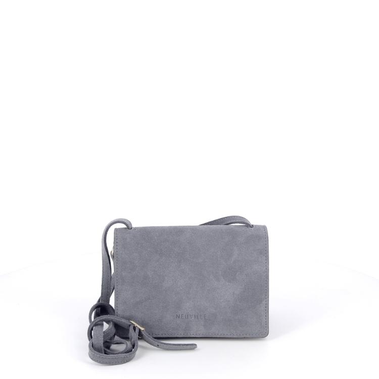 Neuville tassen handtas grijsgroen 194964