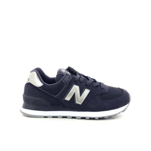New balance damesschoenen sneaker donkerblauw 197981