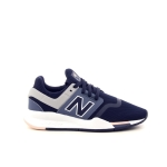 New balance damesschoenen sneaker blauw 192318