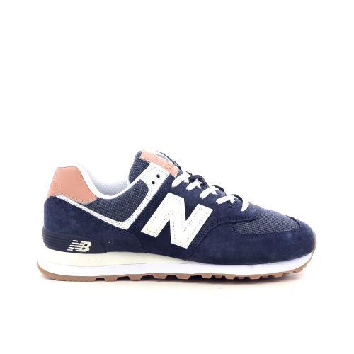 New balance herenschoenen sneaker blauw 208217