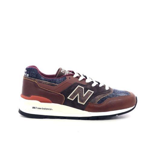 New balance herenschoenen sneaker donkerblauw 211898