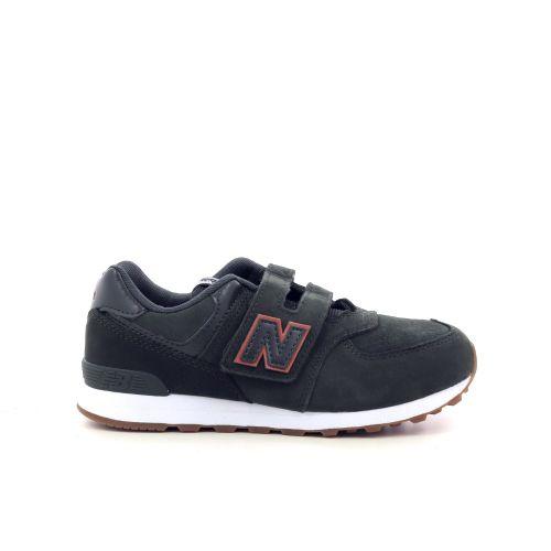 New balance kinderschoenen sneaker donkerblauw 208200