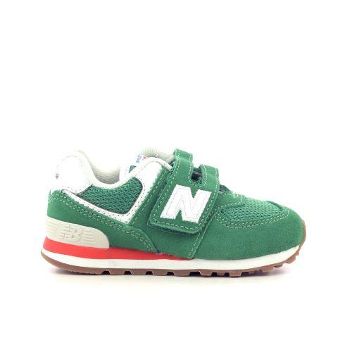 New balance kinderschoenen sneaker felgroen 211812