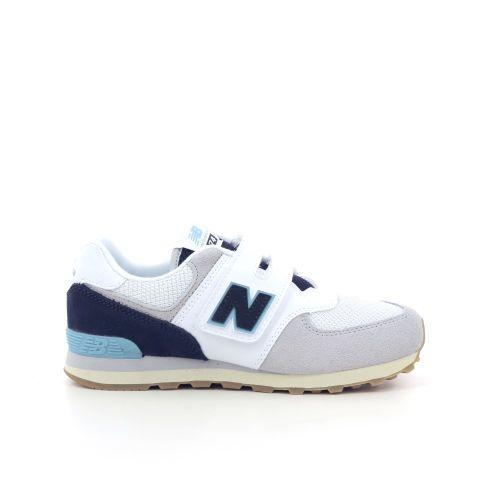 New balance kinderschoenen sneaker lichtgrijs 202702