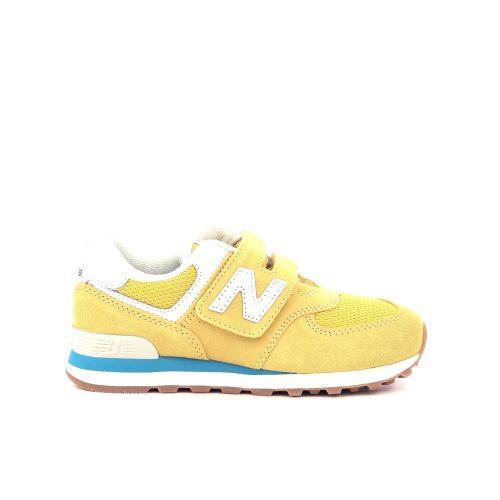 New balance kinderschoenen sneaker lichtgrijs 211760