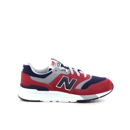 New balance kinderschoenen sneaker rood 208095