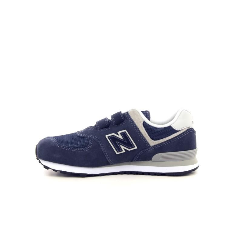 New balance kinderschoenen sneaker donkerblauw 192340