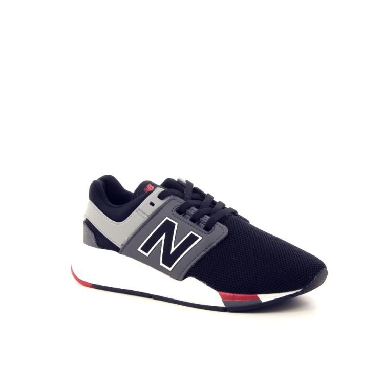 New balance kinderschoenen sneaker zwart 192334