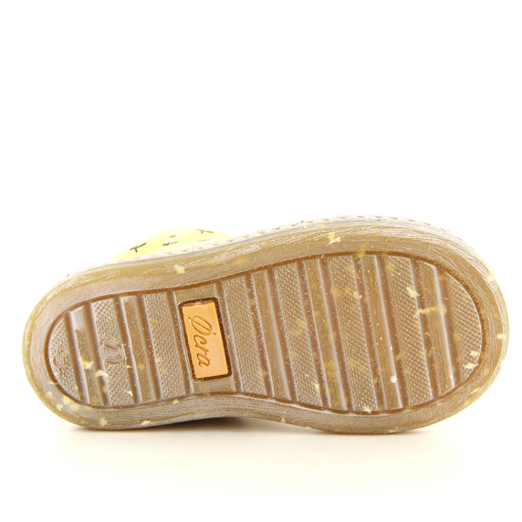 Ocra kinderschoenen boots goud 10166