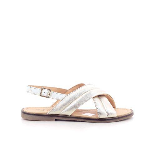 Ocra  sandaal platino 203879