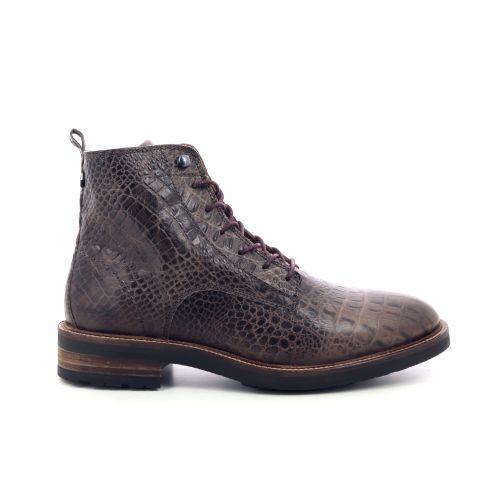 Olivier strelli herenschoenen boots bruin 199452