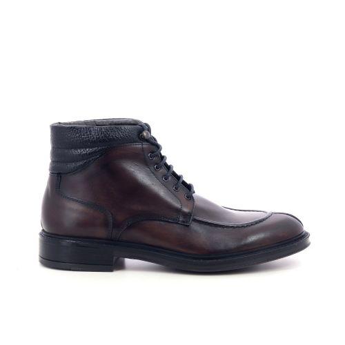 Olivier strelli herenschoenen boots bruin 209948