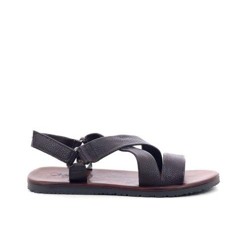Olivier strelli herenschoenen sandaal d.bruin 205130