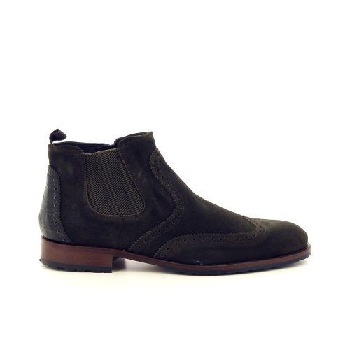 Olivier strelli herenschoenen boots kaki 189188