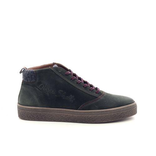 Olivier strelli herenschoenen boots kaki 199461