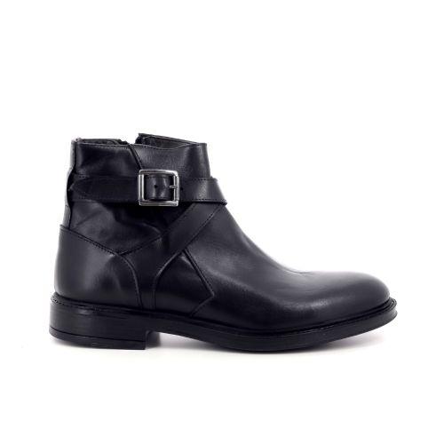 Olivier strelli herenschoenen boots zwart 209946