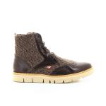 Olivier strelli herenschoenen boots bruin 19137