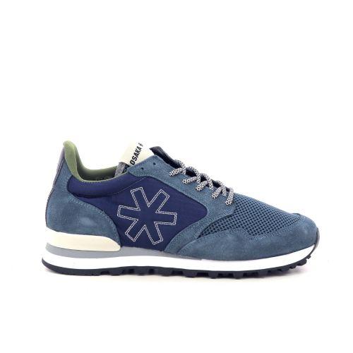 Osaka herenschoenen sneaker blauw 213248