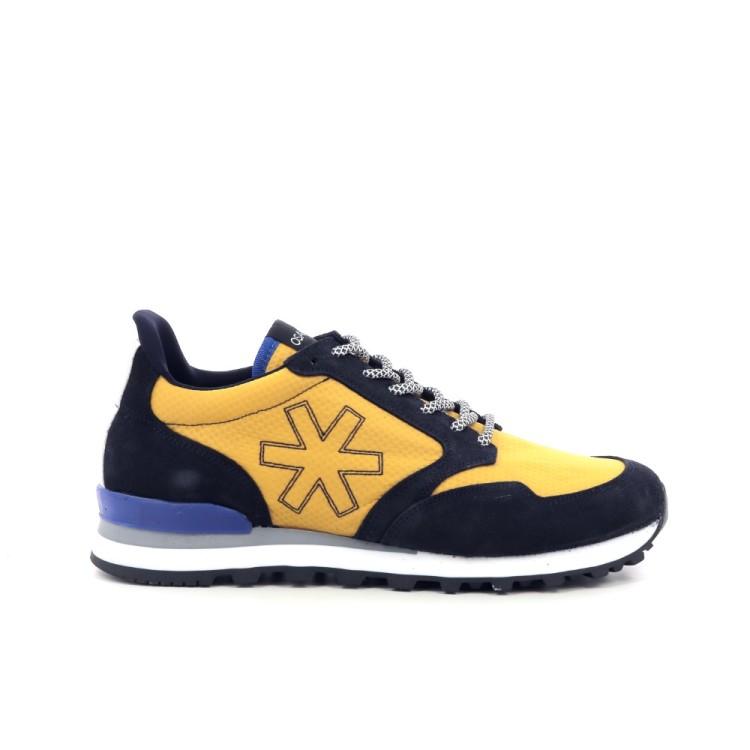 Osaka herenschoenen sneaker blauw 206576