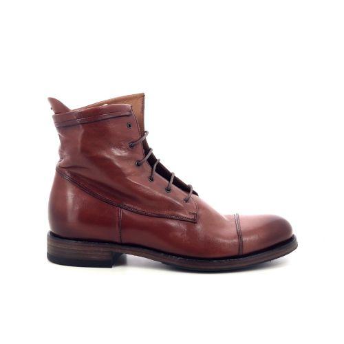 Pantanetti damesschoenen boots cognac 201090