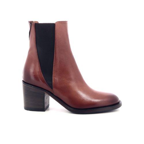 Pantanetti damesschoenen boots cognac 201098