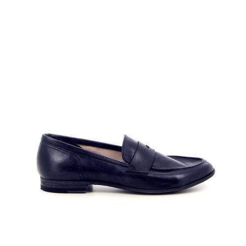 Pantanetti damesschoenen mocassin donkerblauw 184875