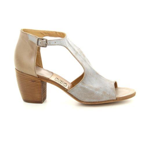 Pantanetti damesschoenen sandaal oudzilver 89931