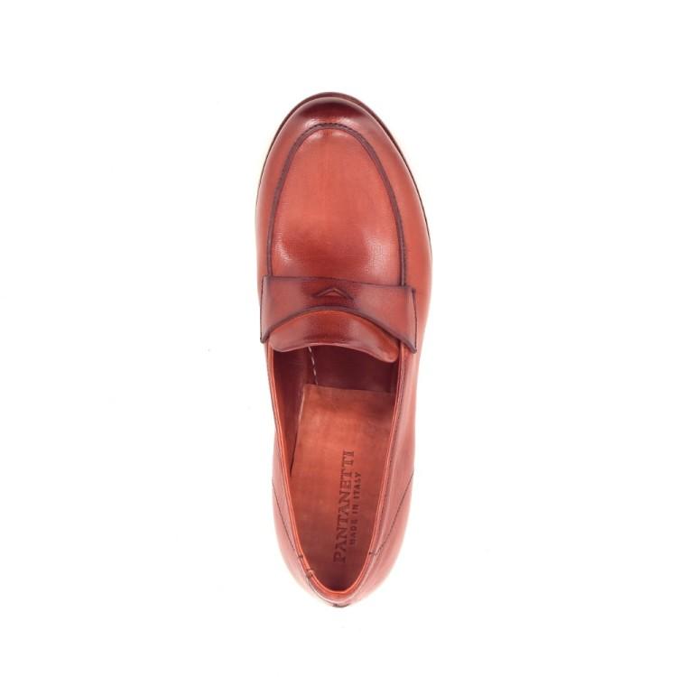 Pantanetti damesschoenen mocassin rood 206481