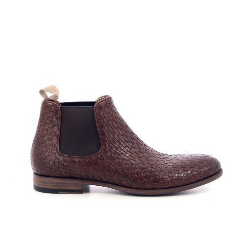 Pantanetti herenschoenen boots cognac 205416