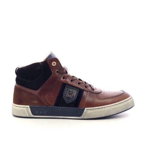 Pantofola d'oro herenschoenen veterschoen blauw 217612