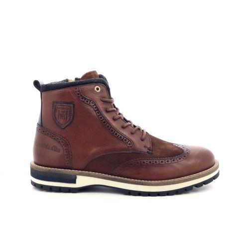 Pantofola d'oro herenschoenen boots cognac 200328