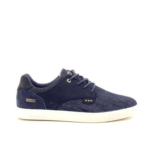 Pantofola d'oro herenschoenen veterschoen jeansblauw 193308
