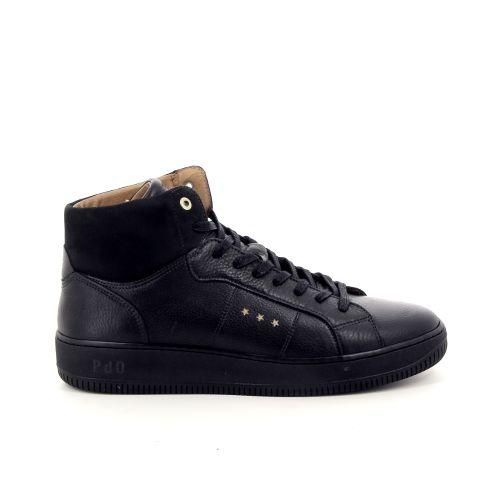Pantofola d'oro herenschoenen veterschoen zwart 177605