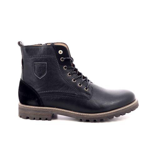 Pantofola d'oro herenschoenen boots zwart 200329