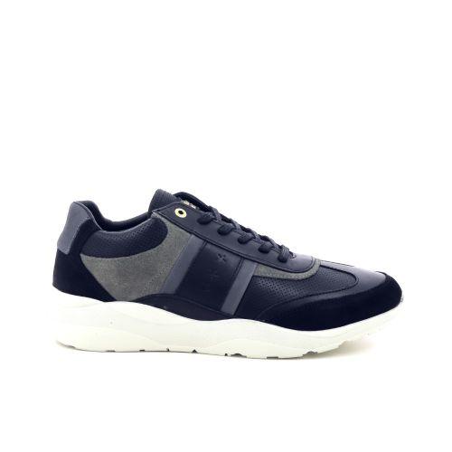 Pantofola d'oro  veterschoen zwart 200327