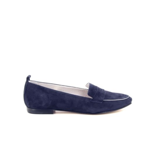 Paoli ballerina damesschoenen mocassin donkerblauw 172820