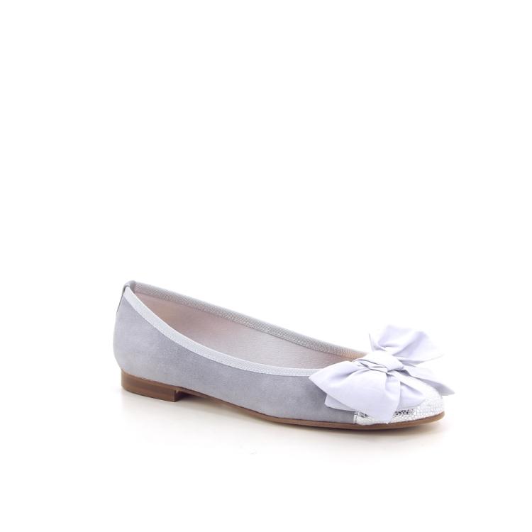 Paoli firenze damesschoenen ballerina lichtgrijs 193266