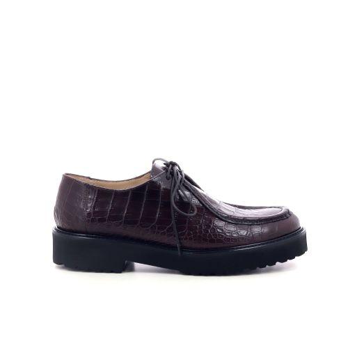 Pascucci damesschoenen veterschoen zwart 209135
