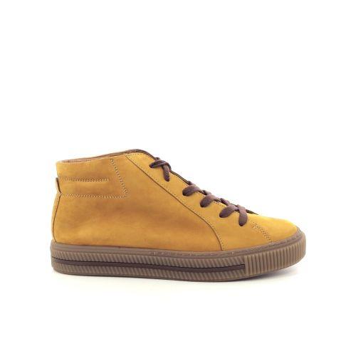 Paul green damesschoenen sneaker cognac 200443