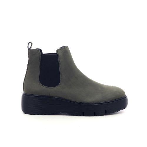 Paul green damesschoenen boots cognac 210711